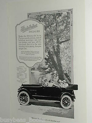 1920 Studebaker advertisement, Studebaker Series 20 Special-Six