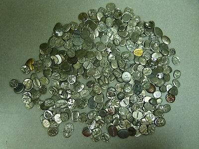 1 Lbs   Pewter Tokens