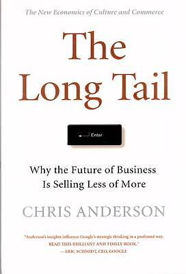 Chris Anderson-The Long Tail, 2006, First Edition, Hardcover, mint condition