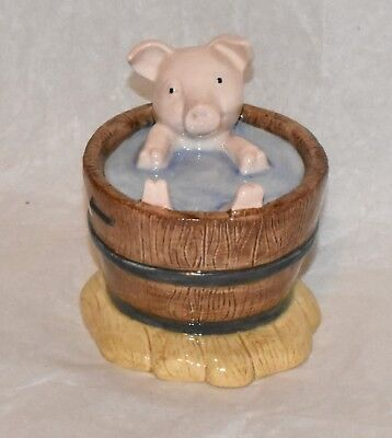 Beswick Beatrix Potter YOCK-YOCK IN THE TUB Porcelain Figurine Royal Doulton