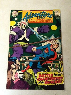 Adventure #366 Superboy, Legion Of Super-Heroes, 1968, Championship Of Universe