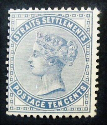 nystamps British Straits Settlements Stamp # 39 Mint $450