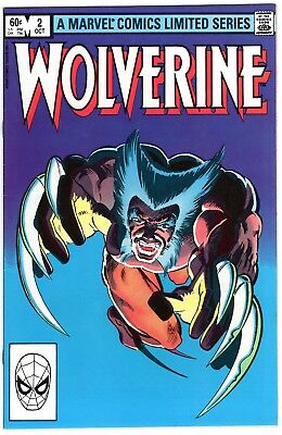Wolverine #2 (Limited Series) FN+ 6.5