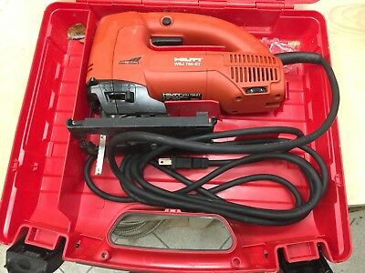 Hilti WSJ 750-ET Corded Jig Saw with case in great condition