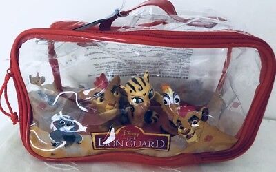 Official Disney Lion King/ Lion Guard Bath Set Only 3 Figures