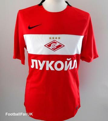 SPARTAK MOSCOW Nike Home Shirt 2016-2017 NEW M Jersey 16/17 Jersey Moskva