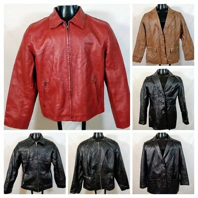 LOT of 20 Leather Sexy Soft Leather Jackets/Blazers Womens Fashion WHOLESALE