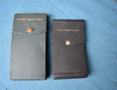 Antique Negative Holder Wallet / Book / Album with 100 Negatives & one empty one