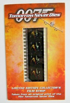 James Bond 007 Tomorrow Never Dies - Limited edition Collector's Film Strip