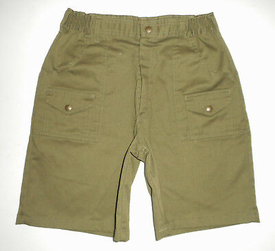 BOY SCOUTS Of America UNIFORM Cargo Shorts GREEN Vtg Scout Adult Mens USA NEW 29