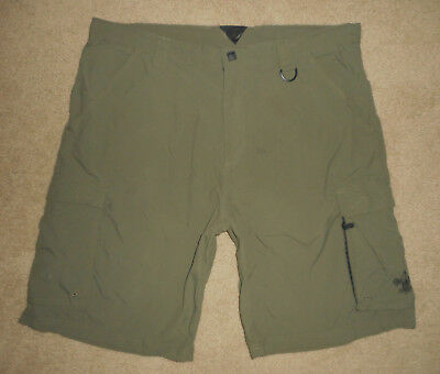 BOY SCOUTS Of America UNIFORM Shorts CENTENNIAL Cargo Nylon Adult Mens NEW Lg