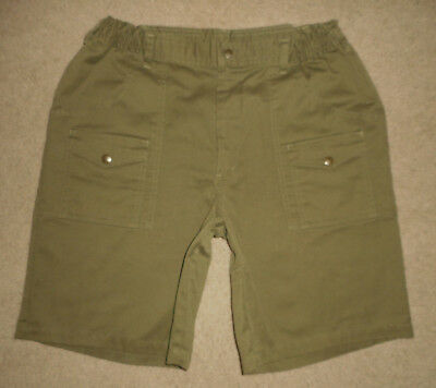 BOY SCOUTS Of America UNIFORM Shorts GREEN Cargo Scout Adult Mens NEW Sz 36