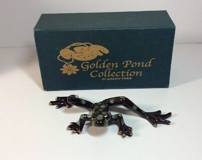 Golden Pond Collection By Green Tree Frog Collectible Stunning