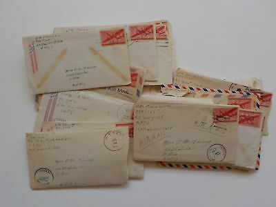 27 WWII Letters Saipan 51st Naval Construction Battalion Ashtabula Ohio WW2