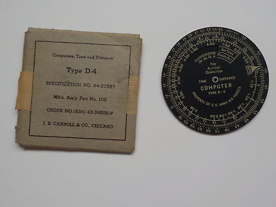 WWII Airplane Dial 43rd Bomb Group Air Force Aircraft Part WW2 WW II VTG Old War