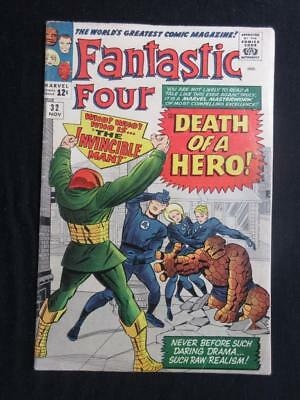 Fantastic Four #32 MARVEL 1964 - Jack Kirby, Stan Lee, Human Torch, silver age!!