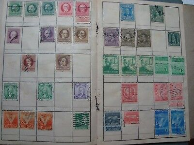 Big Selection Of Older Canada And 1Cuba Stamps On Stock Pages