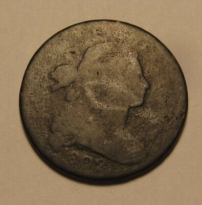 1802 Draped Bust Large Cent Penny - Circulated Condition - 10SU-2