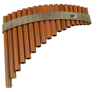 PAN FLUTE 18 Hole Synthetic Wood Pipes Tunable Diatonic