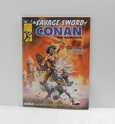 1975 Savage Sword Of Conan The Barbarian - #7 & 8 - Lot Of Two - Vintage