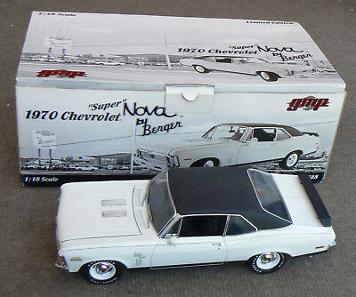 """1970 Chevrolet """"Super"""" Nova by Berger, diecast 1:18 scale, GMP Limited Edition"""