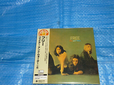 FREE Fire And Water Mini LP CD JAPAN UICY-9132 Kossoff Paul Rodgers Bad Company