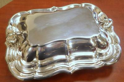 1910 Sterling Silver Reed & Barton Covered Vegetable Bowl X959 Dish 29.82 TOz