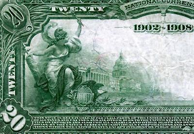 HGR SUNDAY 1902 $20 DATE BACK Providence RI ((RARE 4 Known)) AWESOME GRADE