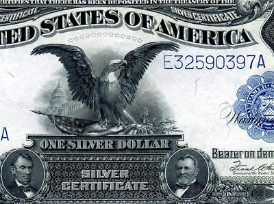 HGR SUNDAY 1899 $1 Black Eagle ((Elliott/White)) VERY HIGH GRADE