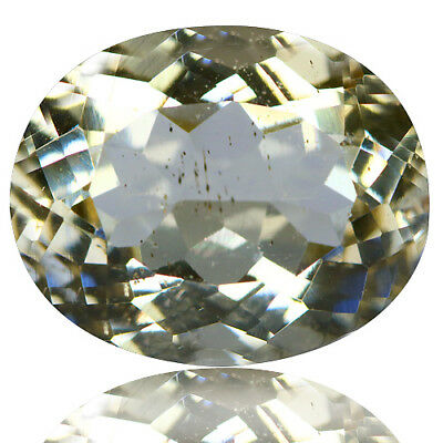 3.83 Ct Dazzling Rare Unheated Best Lustrous Yellow Scopalite !