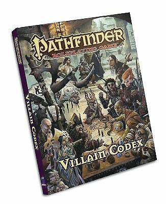 Pathfinder Roleplaying Game: Villain Codex (Hardback or Cased Book)