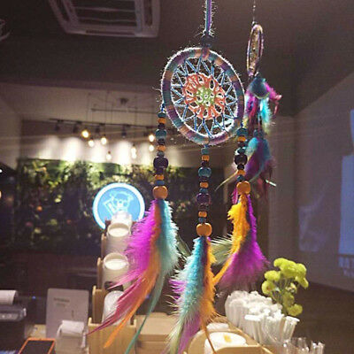 Dream Catcher Car Interior Home Feather Handmade Dreamcatcher Hanging Decoration