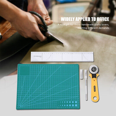 Quilting Sewing Cutting Tool Kit Rotary Cutter Cutting Mat Ruler & Carving Knife