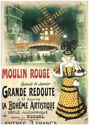 Moulin Rouge - Paris - Ansichtskarte Postcard
