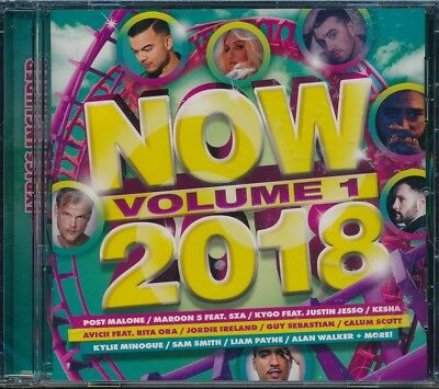 Now 2018 Volume 1 CD NEW lyrics included