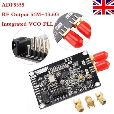 ADF5355 phase-locked loop Modul Development Board VCO RF Output 54M-13.6G PLL UK