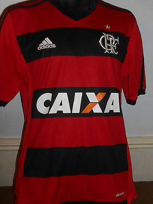 Flamengo Home Shirt (Brazil) ( 2013/2014) size small men's #325