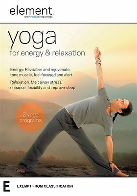Element - Yoga For Energy & Relaxation DVD R4