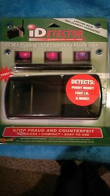 Dri Mark UVD549 Dri Mark iDetector Counterfeit Currency And ID Detector With PEN