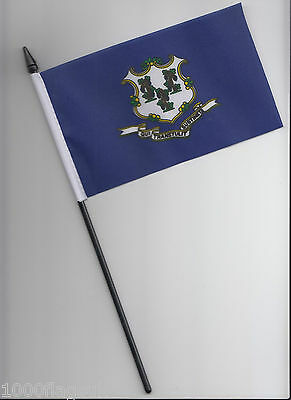 Wisconsin US State Small Hand Waving Flag