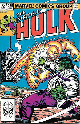 The Incredible Hulk Comic Book #285 Marvel 1983 VERY FINE+ NEW UNREAD