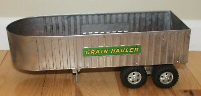 Vintage Tonka Press steel 1960's Grain Hauler, Trailer Only In Used Condition