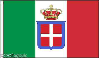 Italy 1861 to 1946 5'x3' Flag