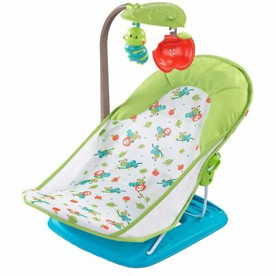 Summer Infant DELUXE BABY BATHER WITH TOYBAR Bathing Accessory & Mirror BN