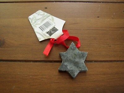 Christmas Star Hanging Decoration, Connemara Marble by Gerard