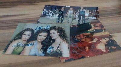 3 Schöne Autogramme  Charmed - Alyssa Milano Rose Mcgowan  Holly M. Combs  10)