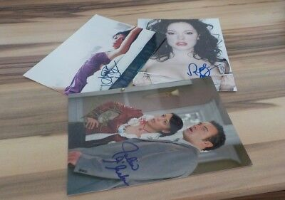 3 Schöne Autogramme  Charmed - Alyssa Milano Rose Mcgowan  Holly M. Combs  11)
