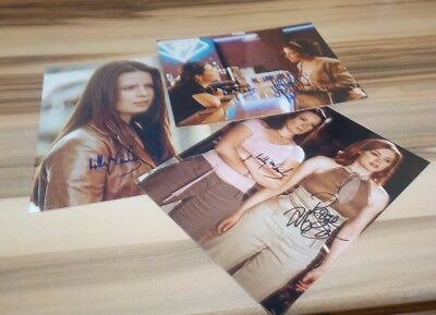 3 Schöne Autogramme  Charmed - Alyssa Milano Rose Mcgowan  Holly M. Combs  12)