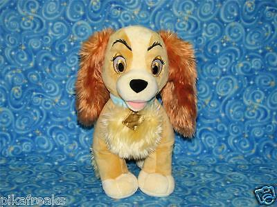 New Large Plush Disney Store Lady and the Tramp Plush Lady Toy USA Seller