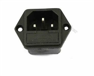 2Pcs 10A/250A Ac Power Socket /Outlet/Jack With Fuse Base 5X20MM Ic New uc